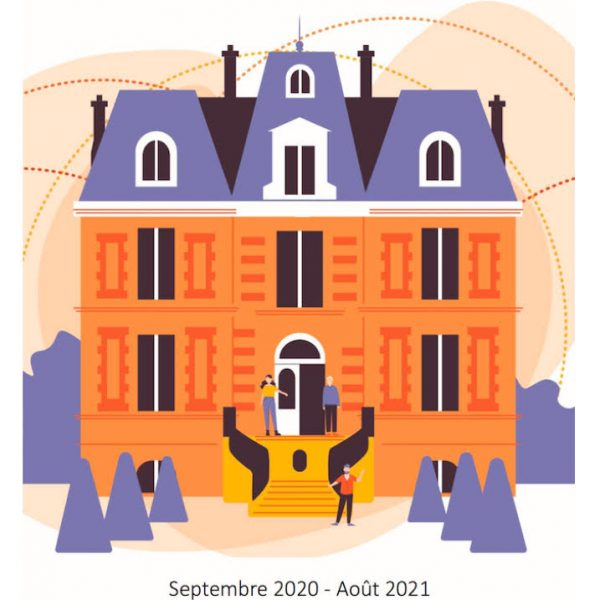 Catalogue des activités du RSB 2020-2021, dessin Camille Larory